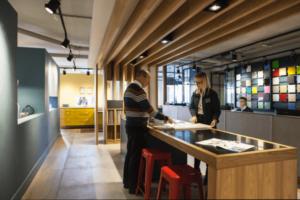 Kitchen Store client consultation