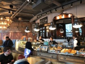 Caffe Nero Torsplan-interior counter view