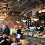 Caffe Nero Torsplan-interior counter andar wall view