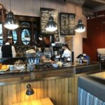 Caffe Nero Torsplan-interior counter with back bar view