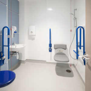 St Josephs Hospice shower area