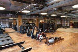 South Lodge inside the gym