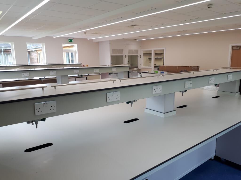 Bader Institute- Interior view/workstation area
