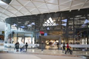 Adidas, Stratford exterior view