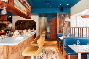 Tahini, Harpenden interior view of restaurant