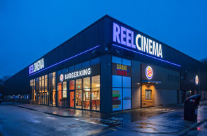 Burger King- exterior view