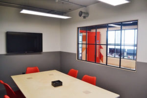 Platform Offices in Brighton, view of table and chairs