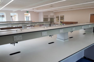 Bader Institute- Interior view/workstation area