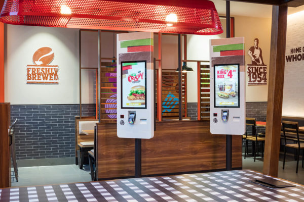 Burger King- view of ordering point